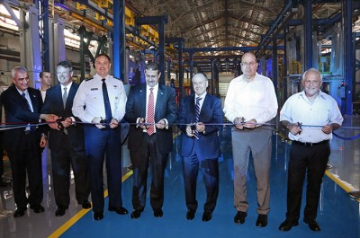 F-35 wings production line inauguration ceremony 700x