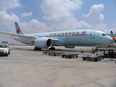MRO Services for Air Canada B787