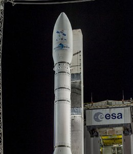 Arianespace Deploys two IAI Built Satellites into Space 1
