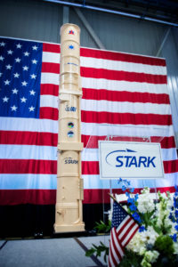 Stark Delivers First ARROW-3 Anti-Ballistic Missile Canister to IAI 1