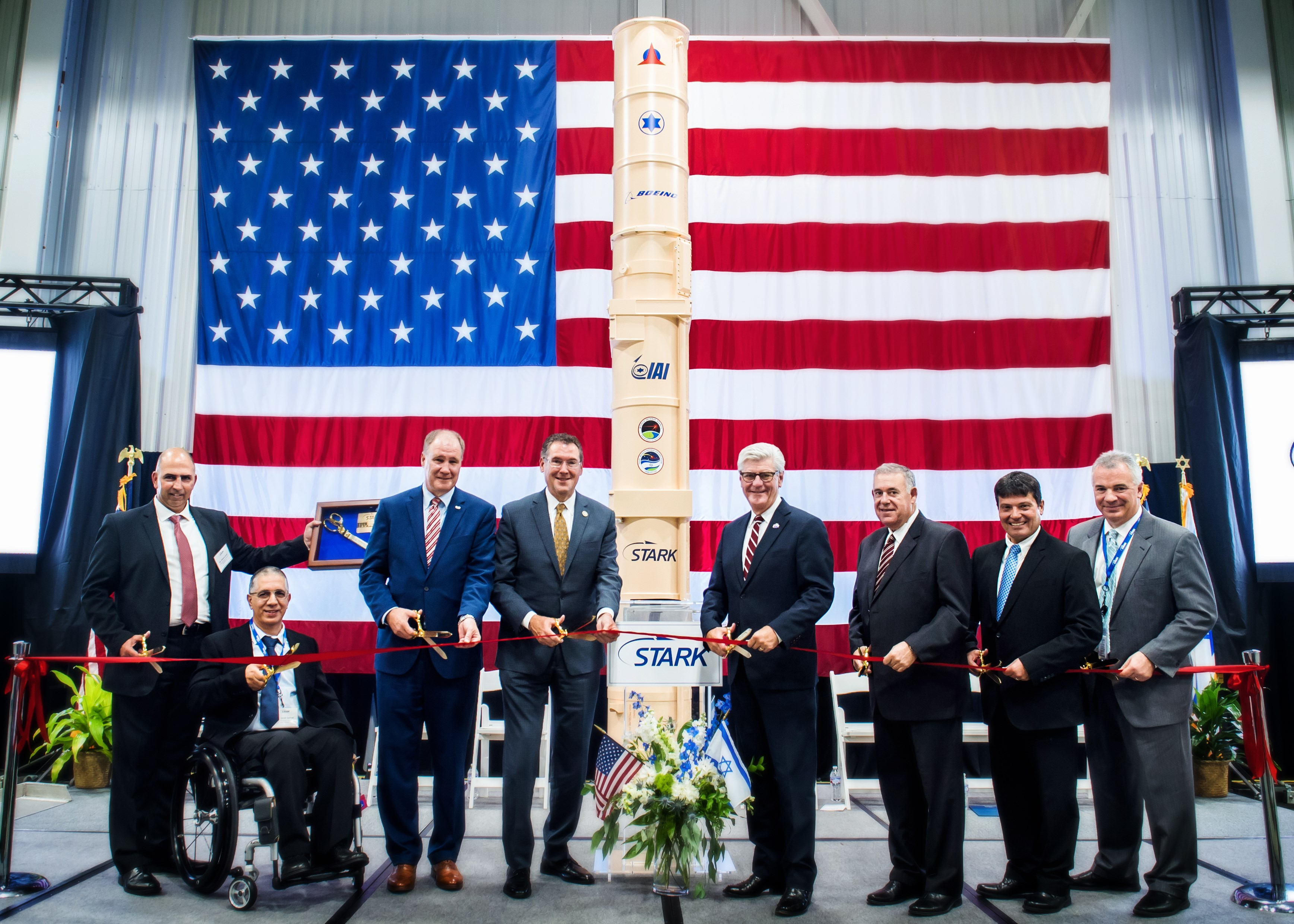 Stark Delivers First ARROW-3 Anti-Ballistic Missile Canister to IAI