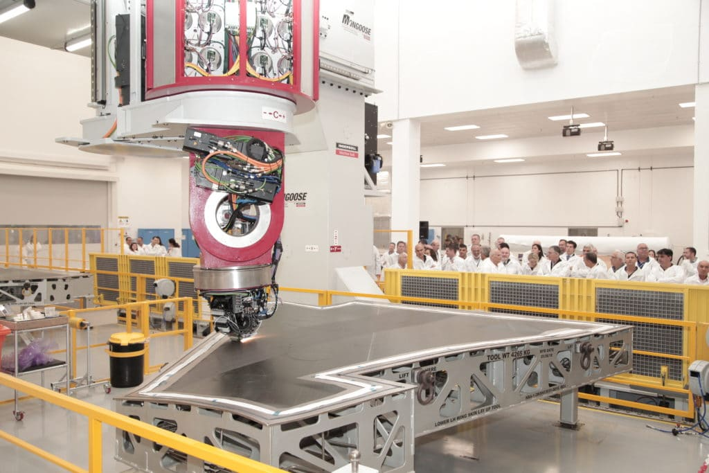 IAI Inaugurates New Line for F-35 Wing Skins 2