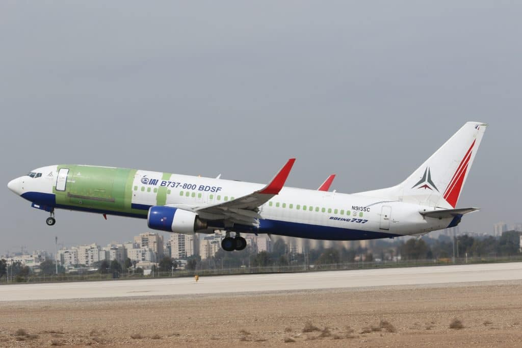 FAA and CAAI Certify IAI's Conversion of Boeing B737-800 Aircraft From Passenger to Freighter Configuration 1