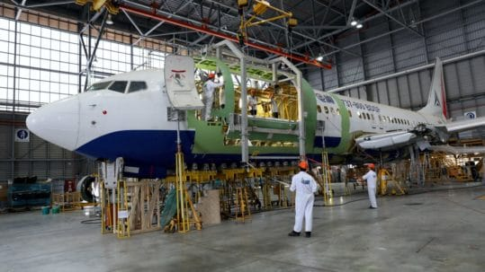 FAA and CAAI Certify IAI's Conversion of Boeing B737-800 Aircraft From Passenger to Freighter Configuration
