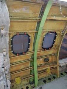IAI Replaces the Pickle Fork Frame Fittings for B737-800 1