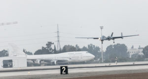 Israel Aerospace Industries Makes History with its Heron UAV Landing at Ben Gurion Airport via Remote Control 2