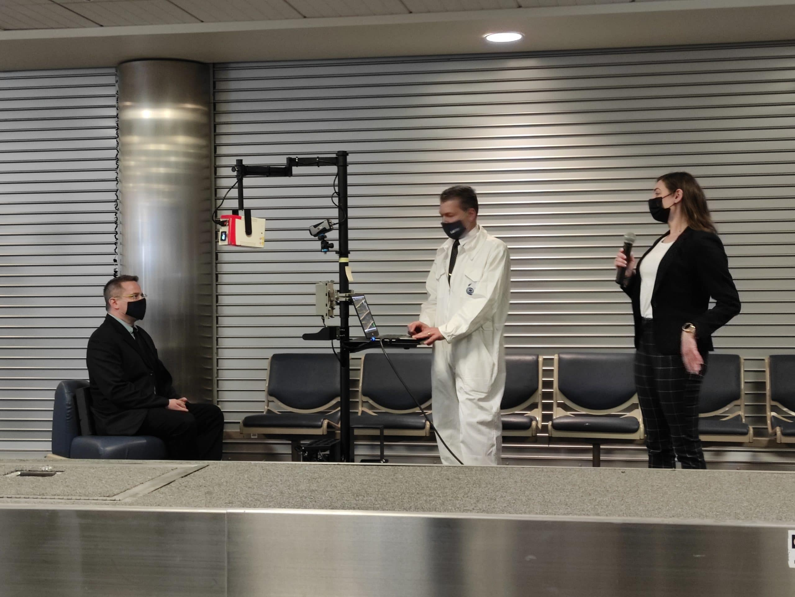 IAI Tests Safe Air Travel Products at Atlantic City International Airport 1